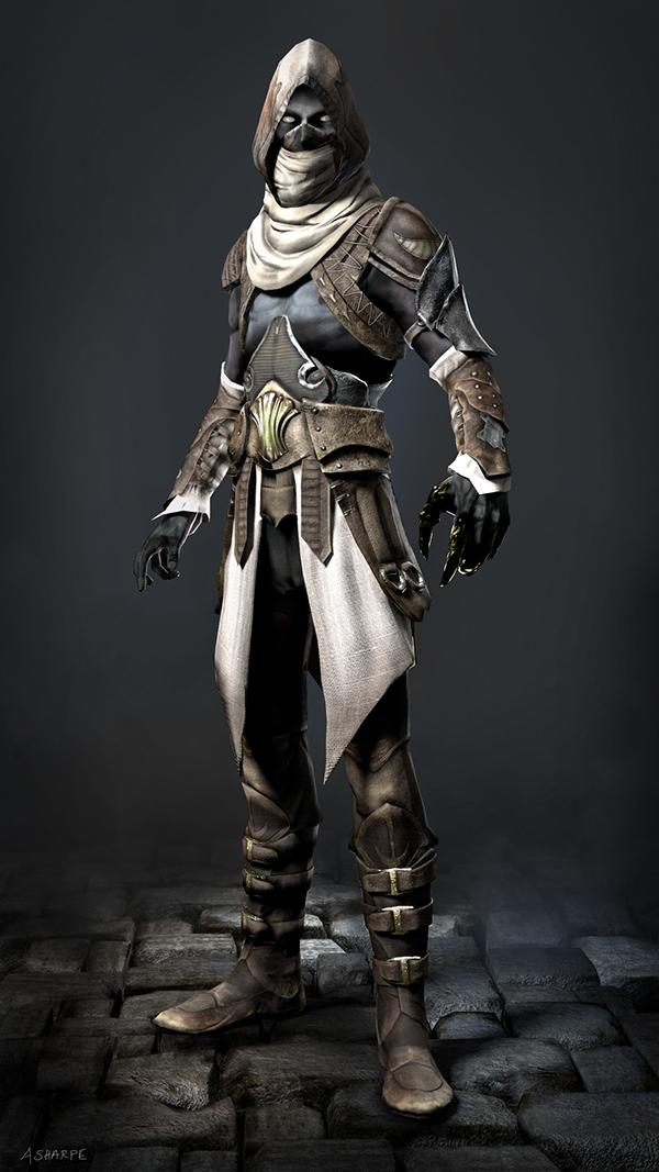 Zbrush Vs Mudbox Dark Elf Assassin on B...