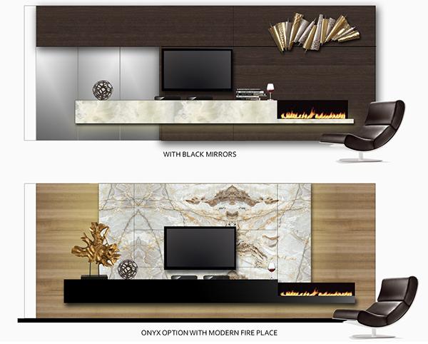 Furniture Selections. TV Elevation Options. Master Bedroom Interior Design