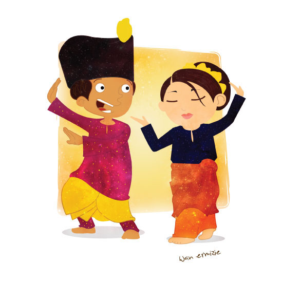 Zapin (Traditional Malay Dance) on Behance