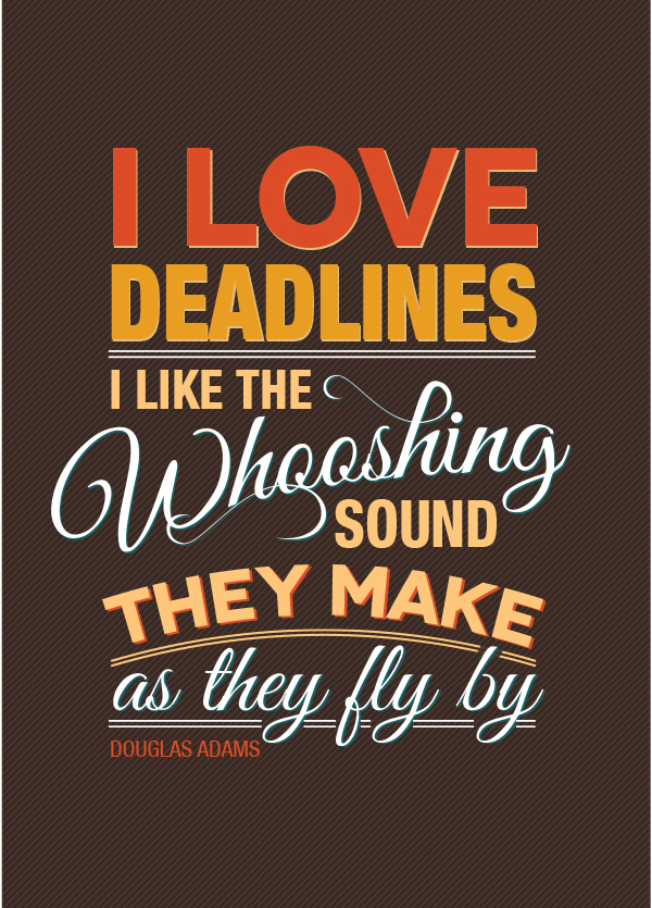 typography quotes on behance