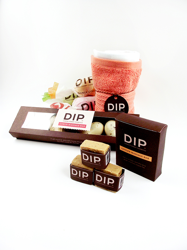 Cassandra cappello graphic design toronto - Dip Confectionery Cosmetics On Behance