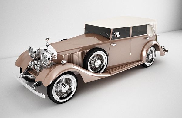 Rolls royce vray lighting on behance rolls royce model from blueprints lighting vray rendering time 1h24m 4 cores one of my longest projects in 3d but it was worth it the hard way malvernweather Images