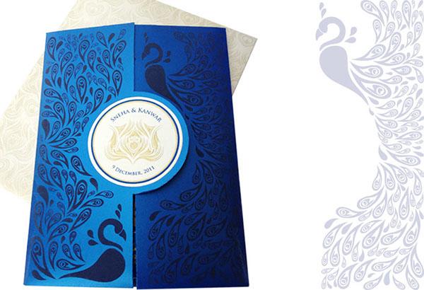 Wedding Card Sneha Kanwar On Behance