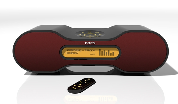 nocs mp3 docking station concept n 2 on behance. Black Bedroom Furniture Sets. Home Design Ideas