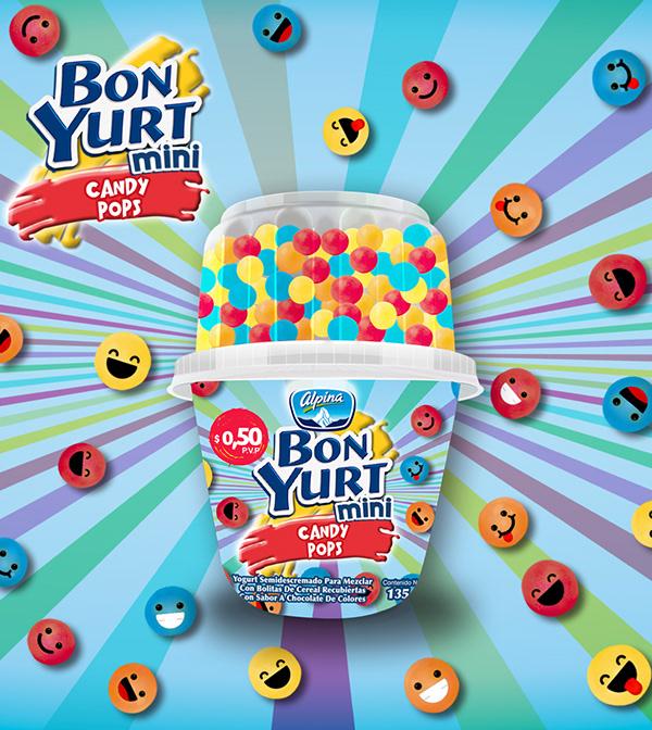 有獨特感的19款糖果包裝設計欣賞