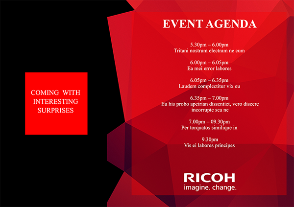 Print design ricoh vietnams dealer meeting 2015 on pantone canvas page 3 invitation card stopboris Choice Image