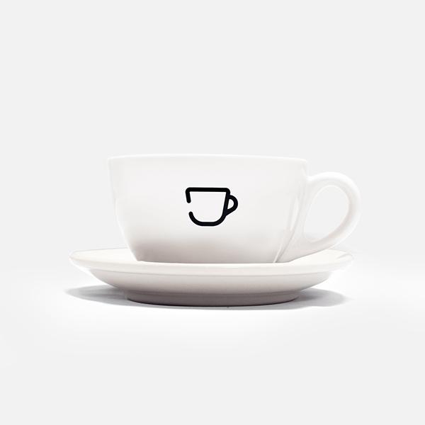 HC-Latte Cup/ Saucer