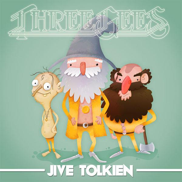 Tolkien Bee Gees funny