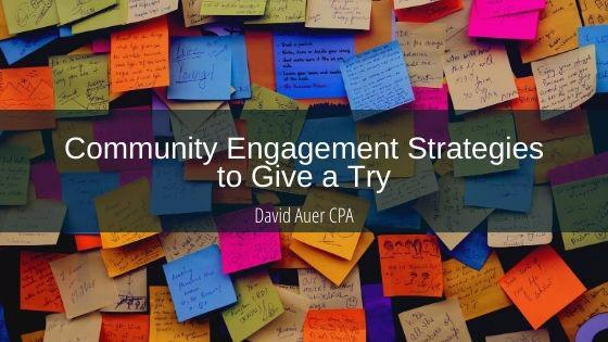 accounting blogs community Community Engagement David Auer David Auer CPA finance retirement writing
