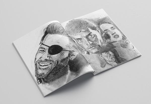 Hand drawn 7