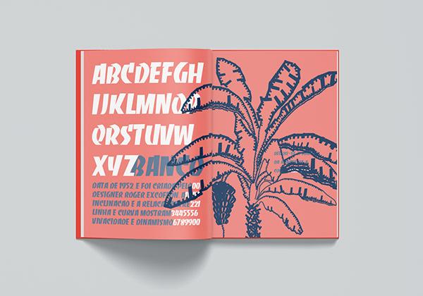 Árvore Tipografada Catálogo