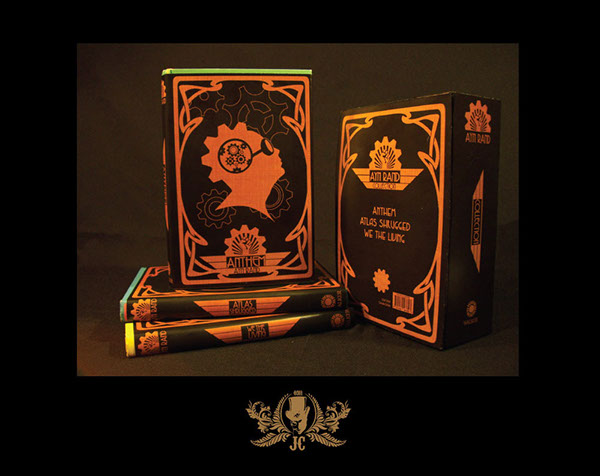 Ayn Rand Book Cover Art : Ayn rand steampunk book box set on behance