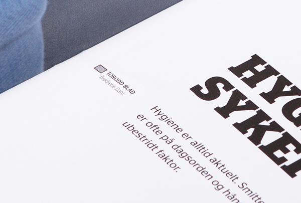 magazine print design