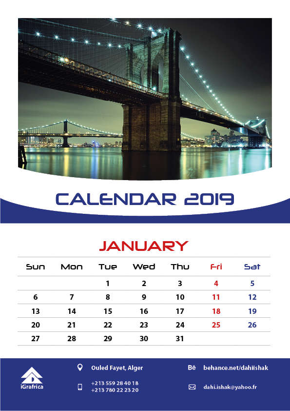 Tuto : Create Wall Calendar -30Min in Adobe InDesign on