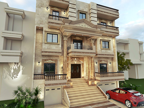 Classic villa on behance for Classic home villa collection