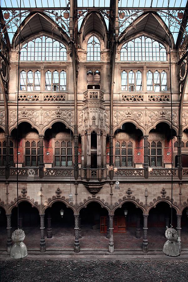 Abandoned forgotten chambre du commerce on behance - Chambre du commerce bayonne ...
