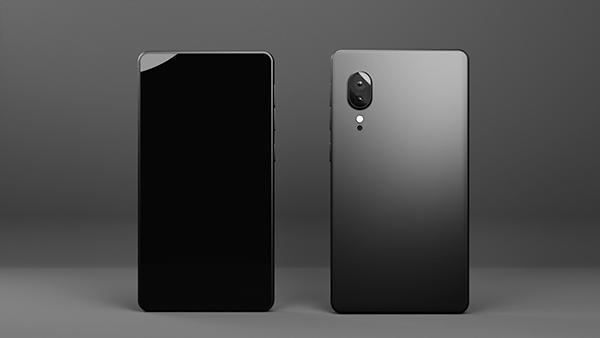 Smartphone 3d render