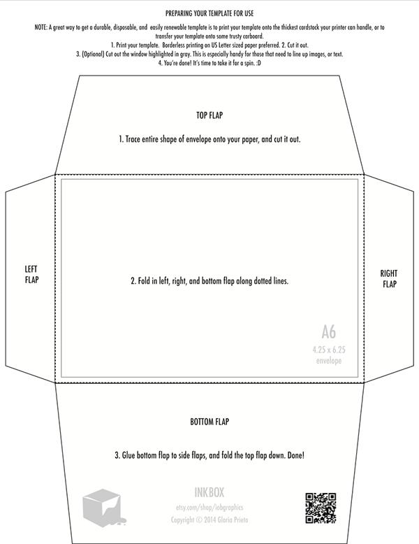 free printable x envelope template design on behance. Black Bedroom Furniture Sets. Home Design Ideas