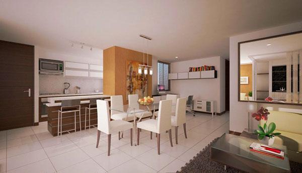 rendering Interior Render apartamento