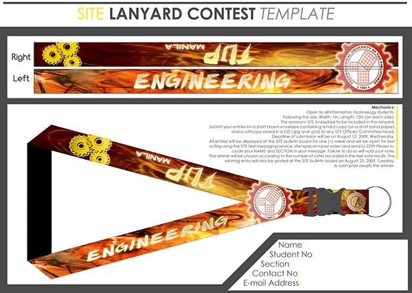Lanyard Design On Behance - Lanyard template