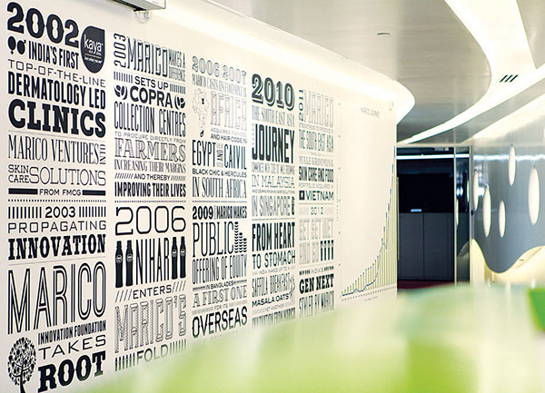 Marico corporate office space mumbai space design on behance for Office interior design quotes