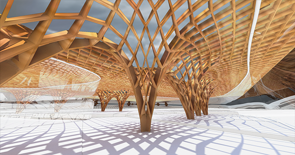Parametric Transport Canopy On Behance