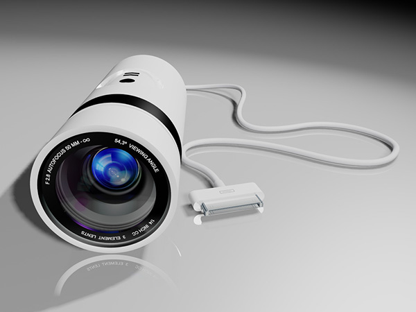 iSight Go Concept: iPhone Plug-In Subjective Camera on Behance