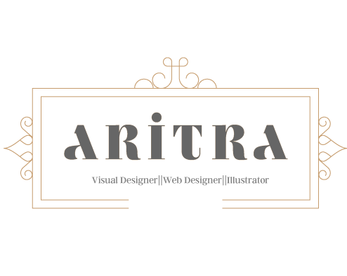 A Set Of Logostypography And Name Based By Aritra The Logos Have Been Made Keeping In Mind Elegance Luxury Minimalism