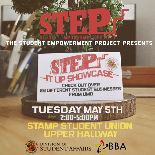 UNIVERSITY OF MARYLAND (STEP) ORG  on Student Show