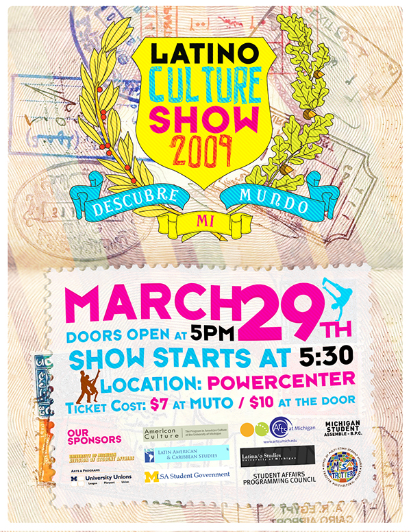 Latino Culture Show Latino Culture Show 2009 Flyer