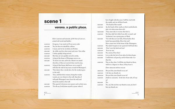 shakespeare books manuscript design