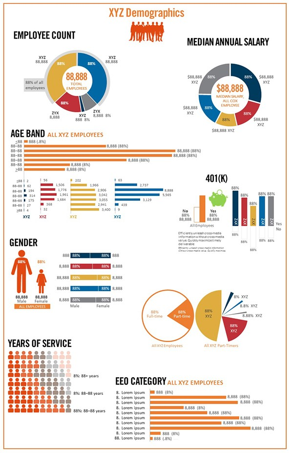 Infographics, Web design on Behance