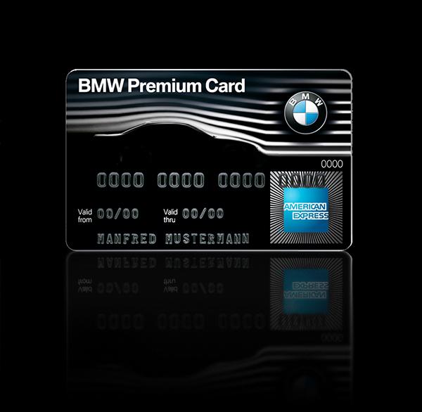 Bmw American Express Card Design On Wacom Gallery