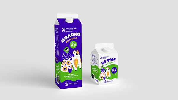 Packaging design | Vyatushka