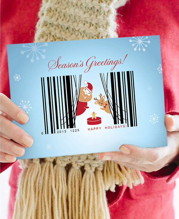 NRF holiday card Christmas national retail federation FIDM Pleedesigner taiwan student project contest scholarship