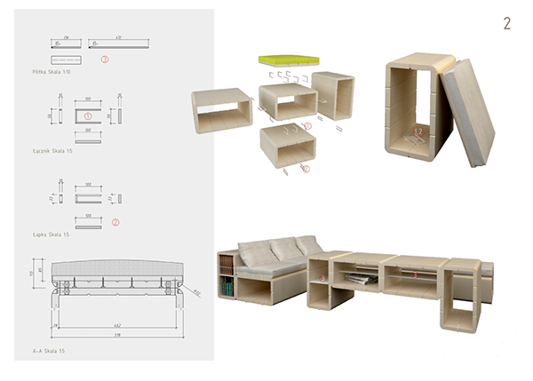Smart furniture on behance for Smart furniture and decor