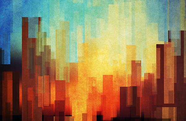 abstract cities on behance