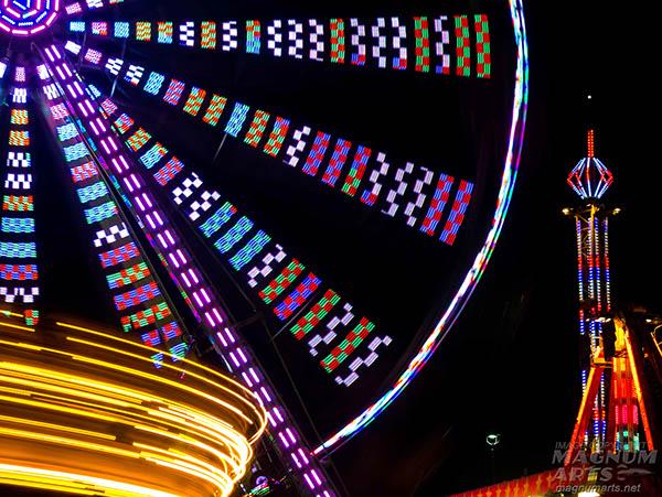 festival amusement park Fair Midway Carnival Ferris Wheel
