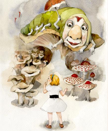 Alice In Wonderland Book Report Ideas : Alice in wonderland on behance