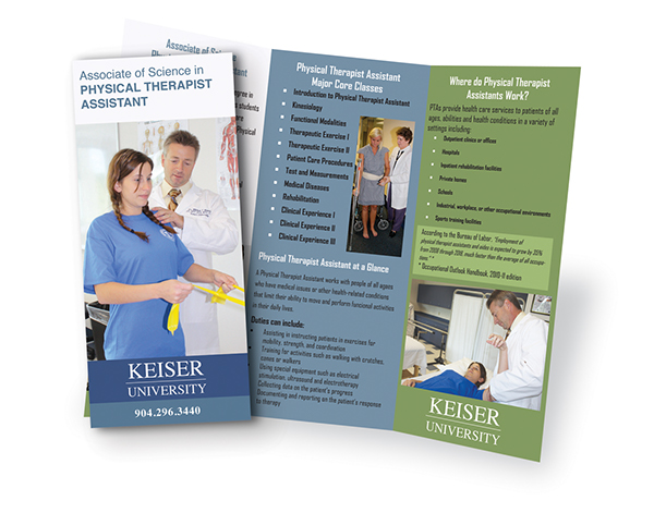 physical therapy brochure on behance