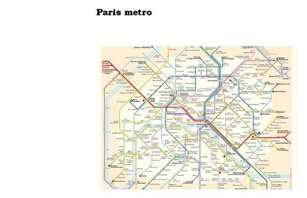 Paris Metro Map App.Metro System Redesign On Scad Portfolios