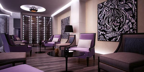 neo baroque hotel design hotel golden ring porec croatia - Violet Hotel Design