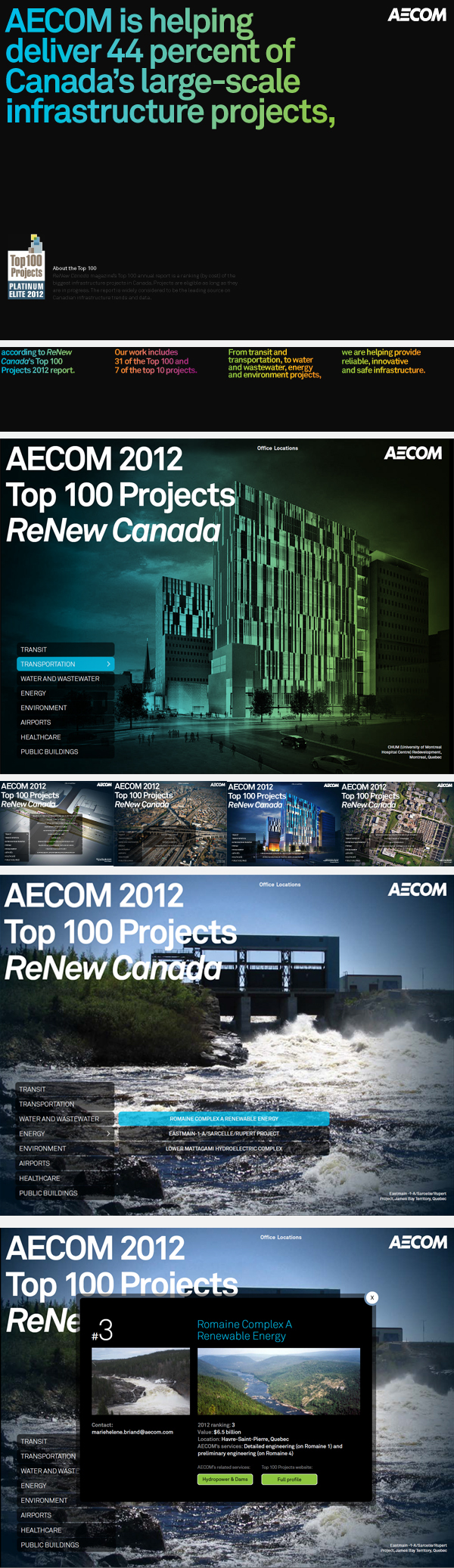 AECOM Design Day to day on Behance