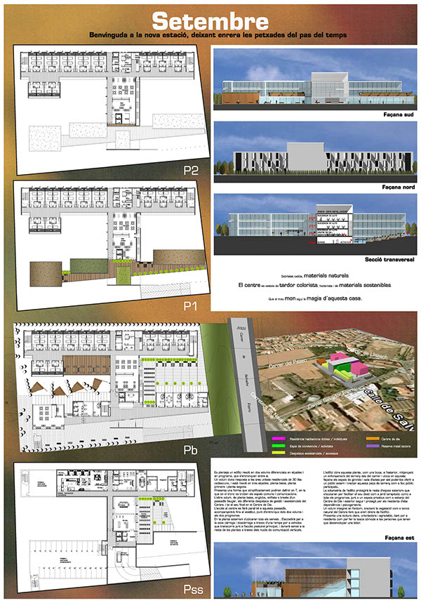 Infografia arquitectura on behance for Infografia arquitectura