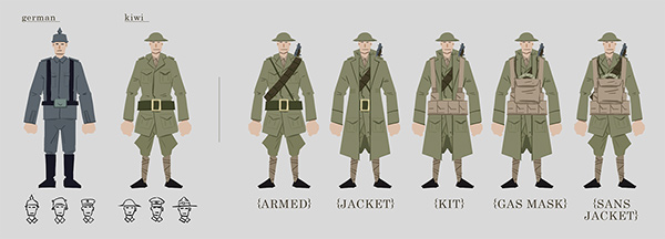 Character Design Principles : Animated illustrations the berry boys on behance