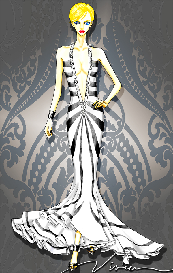 Adobe Photoshop Clothing Design Software These fashion illustrations