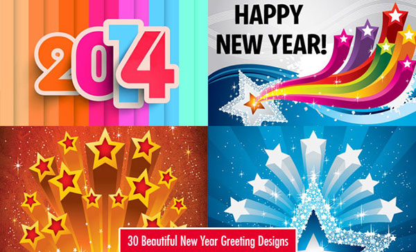 30 beautiful new year greeting card designs for you on behance new year greeting card design wish your friends and loved ones a happy new year with these festive new year cards new year holiday cards are a popular m4hsunfo