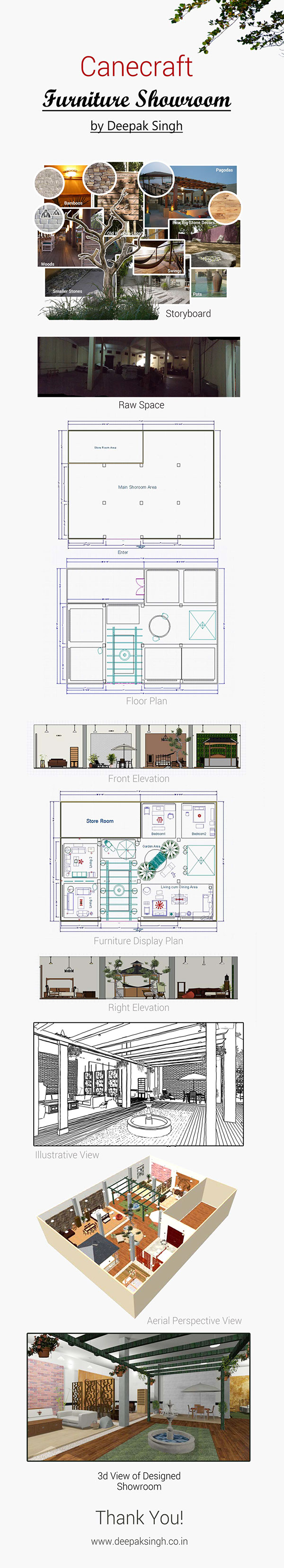 Showroom Interior Design By Deepak Singh On Wacom Gallery