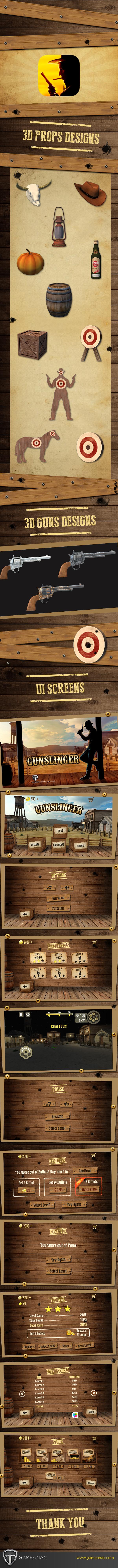mobile gaming Gaming iphone iPad user interface shooting game