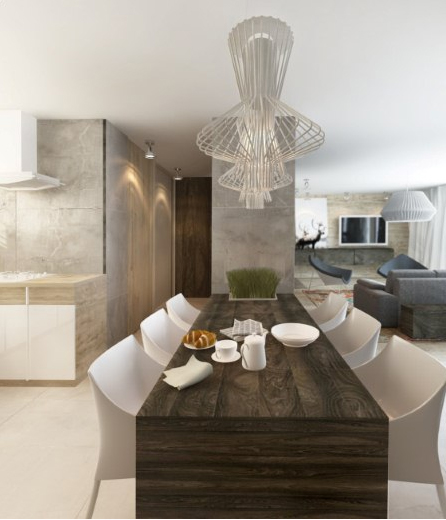 Apartments in cracow on behance for Designer apartment krakow